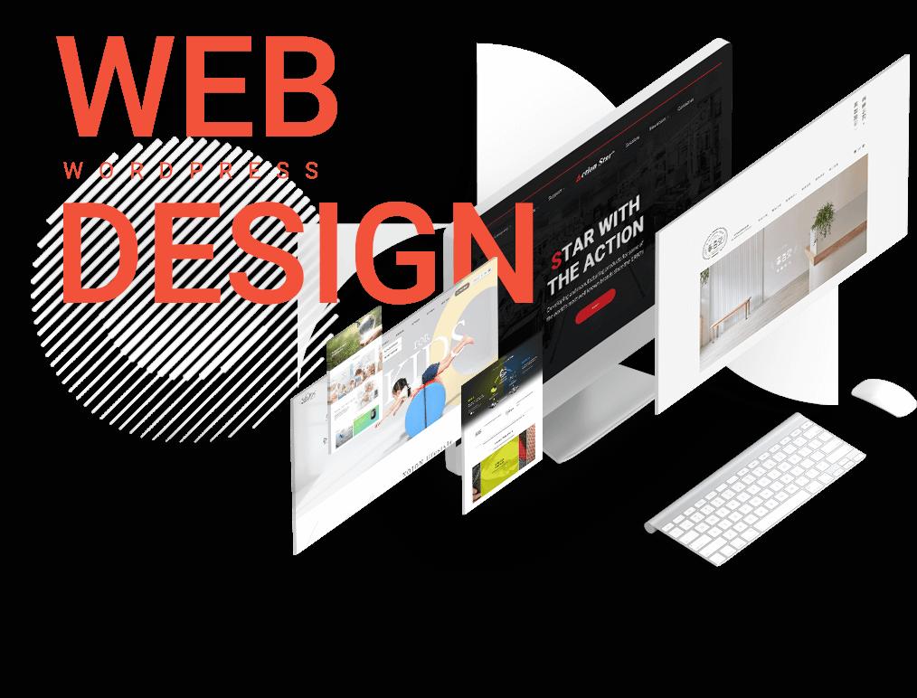 網站設計的代表圖示